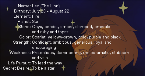 I am a Leo | My Zodiac Sign